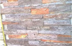 Khumblava Slate Stone Cladding, Size: 6 X 24 inch