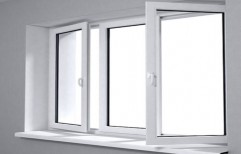UPVC Casement Window, Size: 6 * 4 feet