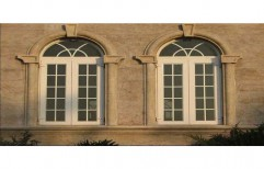 Bay UPVC Window, Size/Dimension: 6 Feet * 4 Feet