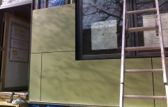 Exterior Wall Cladding by Build Interior