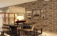Stylish Wall Cladding by Space Decorators
