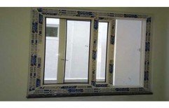 UPVC Two Track Window by Harshini Upvc Windows & Doors