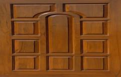 Carved Teak Wood Door by Sree Ram Timber Depot