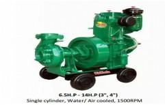 Portable Diesel Engine Pump Set by Kovai Engineering Works