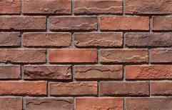Natural Stone Brick Look Veneer Tile, Thickness: 10 - 12 mm