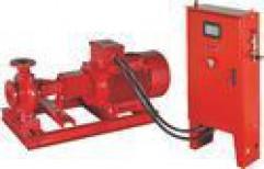 Mild Steel Three Phase Monoblock Electric Driven Pump, Max Flow Rate: 7500 lpm