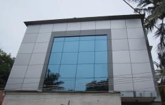 ACP (Aluminium Composite Panels) Cladding by FALCON Glass & Hardwares