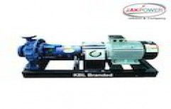 KBL Branded End Suction Pump by Jakson & Company
