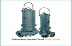 Submersible Sewage Pumps by Texmo Pumps