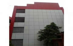 ACP Cladding Work by Alkraft Decorators Private Limited