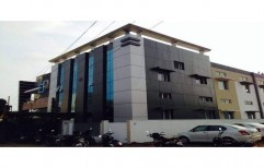 ACP Cladding Work by Akams Exterior Technologies ( Unit Of Akams Advertising Solution)