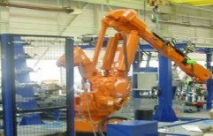 robotic cell with workpiece magazine by SICA2M