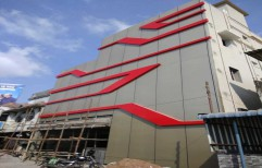 Aluminium Composite Panel Cladding ( 4mm thick ACP sheet) by Green Dawn Projects LLP