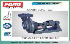 Centrifugal Pump by Shree Satya Industries, Rajkot