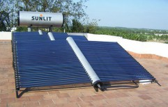 Evacuated Tube Commercial Solar Water Heater by Focusun Energy Systems (Sunlit Group Of Companies)