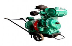 Portable Diesel Engine Water Pump Set by Kovai Engineering Works
