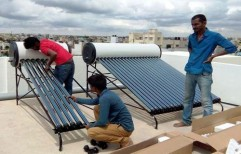 Solar Water Heater Installation Service by Santosh Energy Techno Solutions