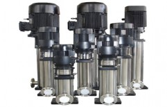 Vertical Inline Multistage Centrifugal Pump by Precision Engineering Works