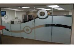 Modular Glass Partition by Megha Marketing