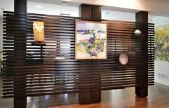 Slat Wall Panel by Megha Marketing