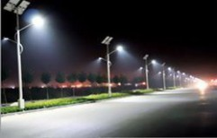 Solar Street LED Light by The Wolt Techniques