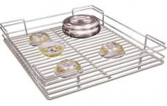 SS Kitchen Basket by Megha Marketing