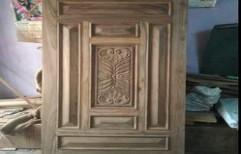 Teak Wood Door by Shri Sai Kripa Furnitures