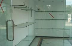 Toughened Glass Fabrication Work by Megha Marketing