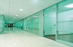 Toughened Glass Glazing by Megha Marketing