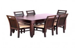 Wooden Dining Table by Shri Sai Kripa Furnitures