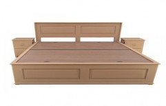 Wooden Double Bed by Shri Sai Kripa Furnitures