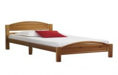 Wooden Single Bed by Shri Sai Kripa Furnitures