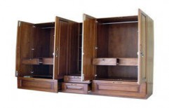 Wooden Wardrobe by Shri Sai Kripa Furnitures