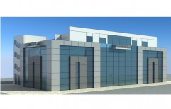 Aluminium Structural Glazing by Rvs Interiors