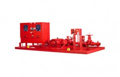 Fire Fighting Vertical Multistage Pump by Creative Engineers