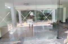 Fixed Glass With Toughened by Rvs Interiors