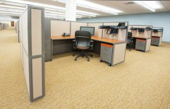 Office Cubicle by Kranthi Wood Works