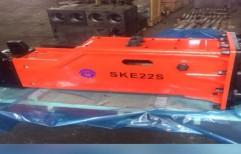 Ske 22 S Hyd Rock Breaker by Skeequipment Private Limited