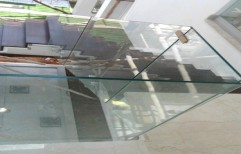Staircase Toughened Glass by Rvs Interiors