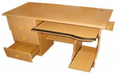 Wooden Computer Table by Kranthi Wood Works