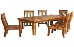 Wooden Dining Table by Rvs Interiors