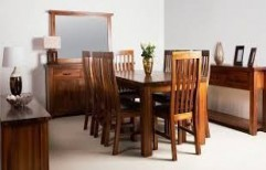 Wooden Furniture Set by Kranthi Wood Works