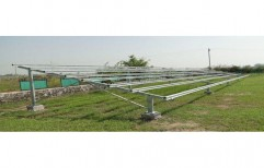 Aluminium Solar Mounting Structure by Sunrise Solartech Solutions