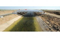 Solar Canal Top Solution by Sunrise Solartech Solutions