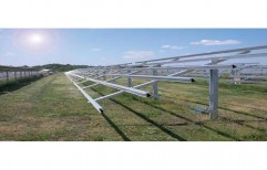 Solar Panel Mounting Structure by Sunrise Solartech Solutions