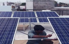 Solar Power Plant Installation by Sunrise Solartech Solutions