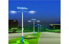 Solar Street Lighting System by S. J. Renewable Energy