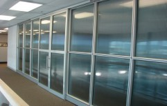 Aluminum Office Partition by Cordial Associates
