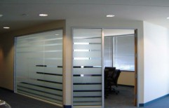 Cutout Frosted Film by Cordial Associates