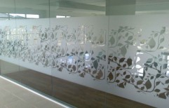 Frosted Glass Designer Film by Cordial Associates